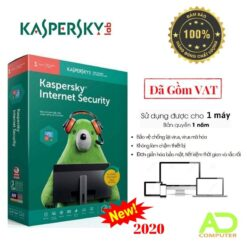Phần mềm Kaspersky Internet Security 1PC/1 Năm (KIS1U)