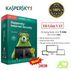 Phần mềm Kaspersky Internet Security 5Users/1 Năm (KIS5U)