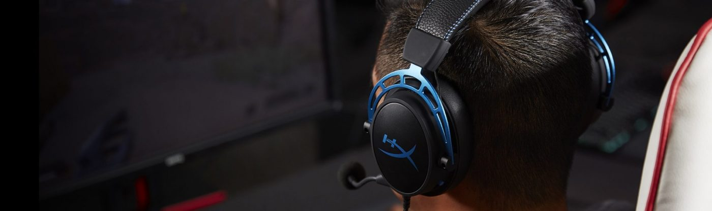 Tai nghe Kingston HyperX Alpha S Blue
