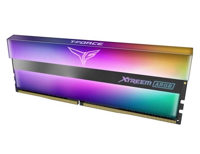 T-Force Xtreem ARGB DDR4: Hiệu ứng ánh sáng gương, tần số cao 4000 MHz