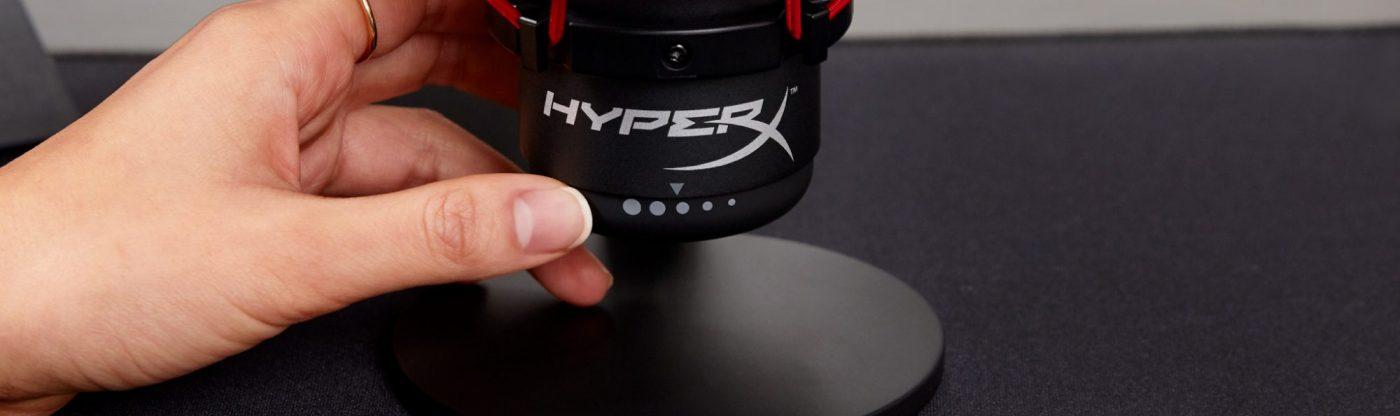review hyperx quadcast - micro chuyên dụng cho streamer và game thủ