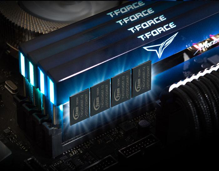 Ram DDR4 Team 16G/3600 T-Force XTREEM ARGB Gaming (TF10D48G3600HC18JBK) (2x 8GB)