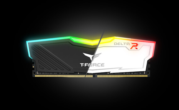 Ram DDR4 Team 16G/3200 T-FORCE Delta RGB (2x 8GB) (Đen)