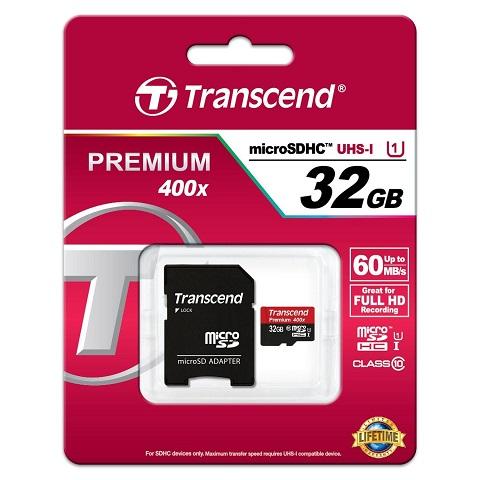 Thẻ nhớ Transcend SDHC CLASS 10 / 32GB